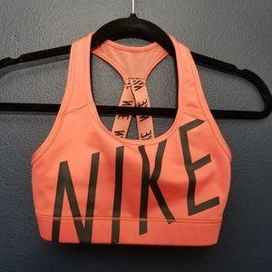 NIKE Dri-fit Pink Workout Bra XS
